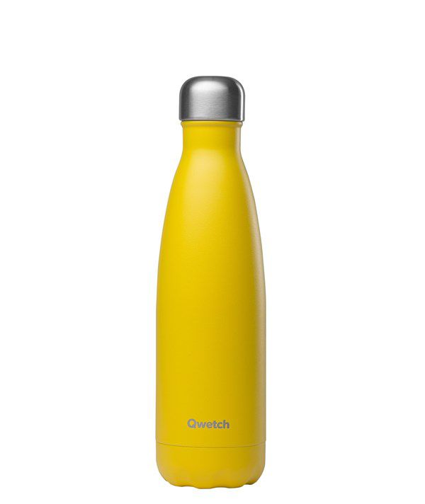 Gourde Qwetch  - Pop jaune 500ml