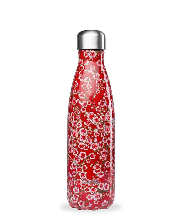 Gourde Qwetch  - Flowers rouge 500ml
