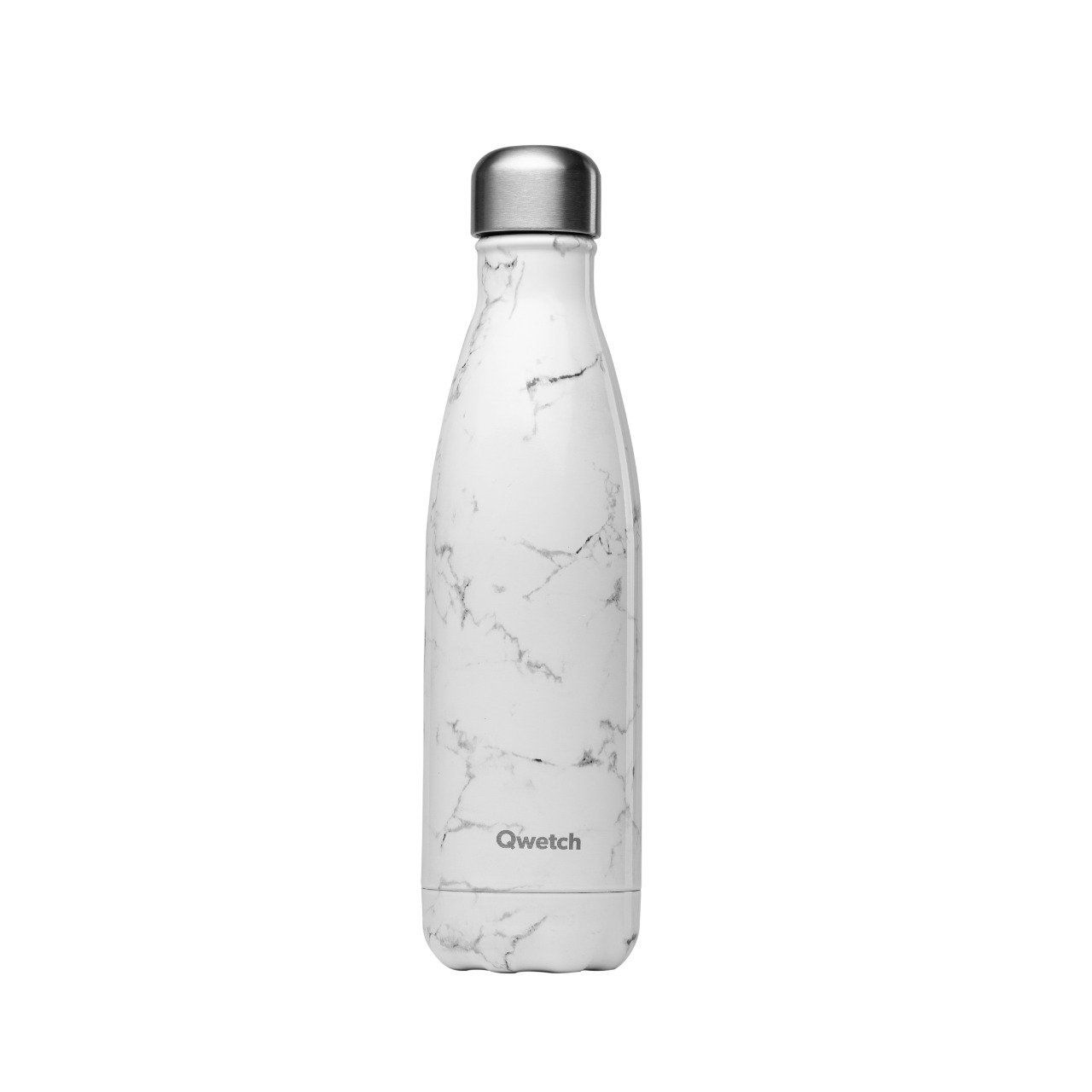 Gourde Qwetch  - Marbre blanc 500ml