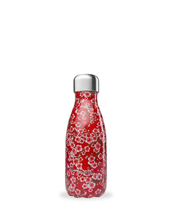 Gourde Qwetch  - Flowers rouge 260ml
